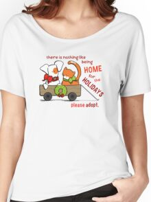 Patch & Rusty : Nothing like Home for Holidays Women's Relaxed Fit T-Shirt