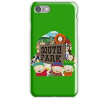 South Park Silhouette  iPhone Case/Skin