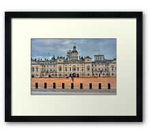 HORSE GUARDS PARADE - LONDON Framed Print