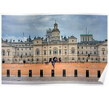 HORSE GUARDS PARADE - LONDON Poster