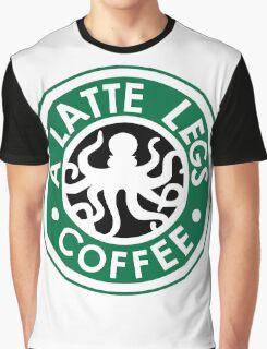 A Latte Legs : Coffee Graphic T-Shirt