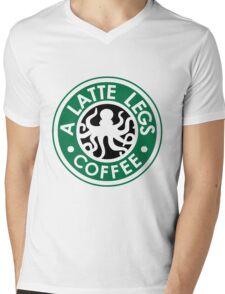 A Latte Legs : Coffee Mens V-Neck T-Shirt