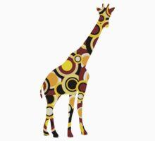 Giraffe - Animal Art Kids Clothes