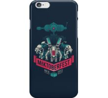 MaKtoberfest 13 iPhone Case/Skin