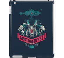 MaKtoberfest 13 iPad Case/Skin