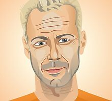 Bruce Willis, Hollywood star in The Fifth Element  by mikath