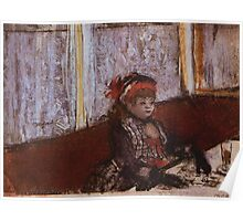 Edgar Degas French Impressionism Oil Painting Girl Eating Poster