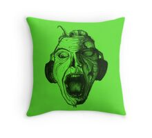 Music for the Undead Throw Pillow