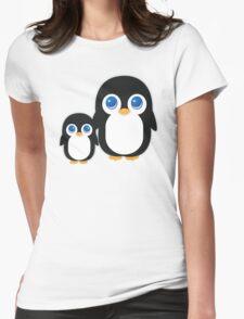 Penguin T Shirt Womens Fitted T-Shirt