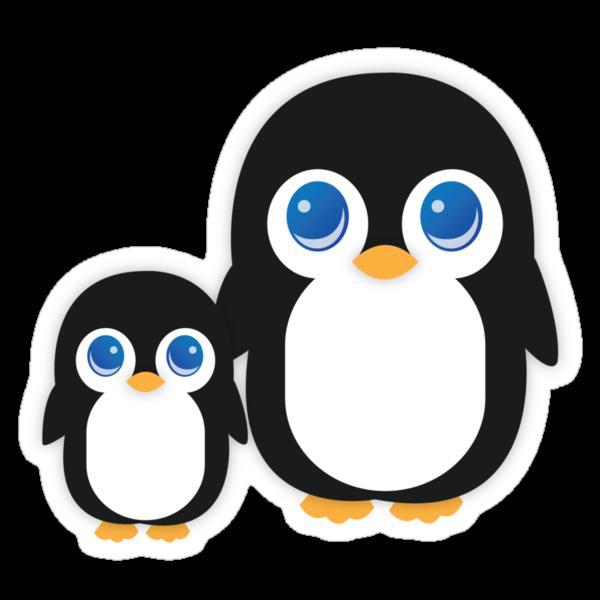 Penguin T Shirt by ubikdesigns