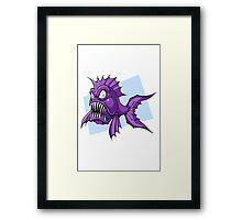 Piranha-Cuda Framed Print
