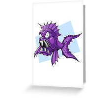 Piranha-Cuda Greeting Card