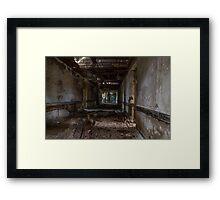 ...falling inside... Framed Print