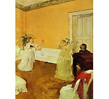 Edgar Degas French Impressionism Oil Painting Girls Singing Photographic Print