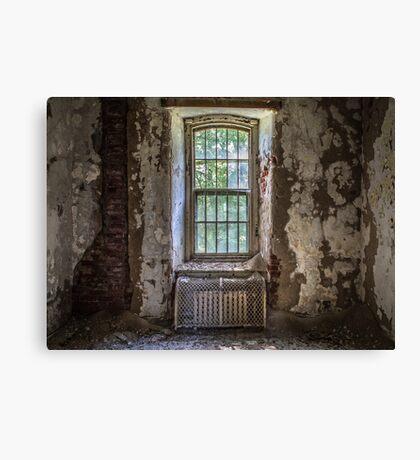 ...decayed memories... Canvas Print