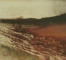 Edgar Degas French Impressionism Oil Painting Landscape by jnniepce