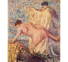 Edgar Degas French Impressionism Oil Painting Woman Bathing Photographic Print