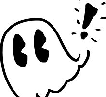 Pac-Man Ghost Sketch by Puppy-