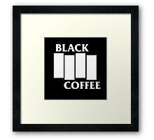 Black Flag Coffee  Framed Print