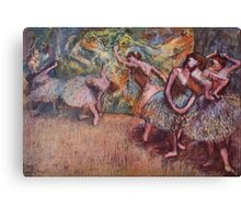 Edgar Degas French Impressionism Oil Painting Dancing Stage Canvas Print