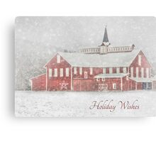 Holiday Wishes Canvas Print