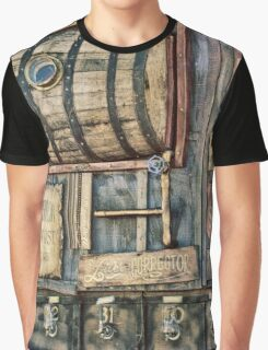 Steampunk Brewery Graphic T-Shirt