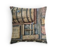 Steampunk Brewery Throw Pillow