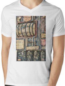Steampunk Brewery Mens V-Neck T-Shirt