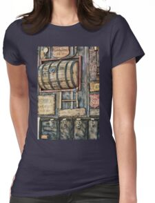 Steampunk Brewery Womens Fitted T-Shirt