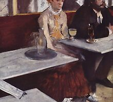 Edgar Degas French Impressionism Oil Painting Sad Woman by jnniepce