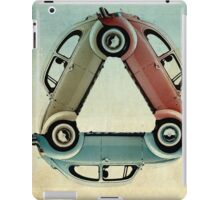VW triangle iPad Case/Skin