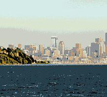 Seattle Coast by Nathan Jekich