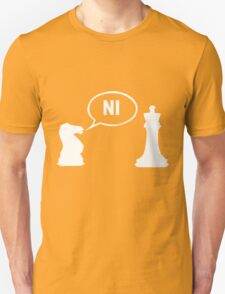 Knights Who Say Ni funny nerd geek geeky T-Shirt