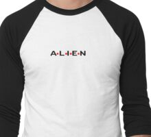 ALIEN Men's Baseball ¾ T-Shirt