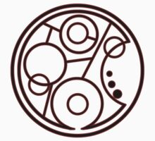 Geronimo Circular Gallifreyan Kids Clothes