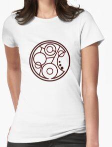 Geronimo Circular Gallifreyan Womens Fitted T-Shirt