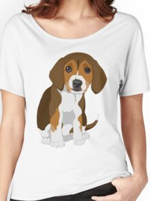 Beagle Pup Women's Relaxed Fit T-Shirt