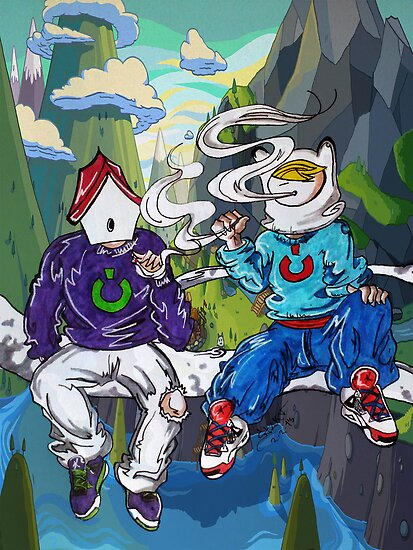 Adventure Time - High Times by colorblind