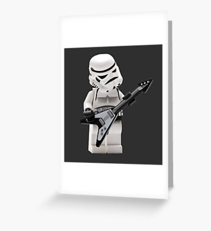 STORMTROOPERS ROCK YOU STAR WARS Greeting Card
