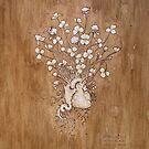 Clover Heart II by Fay Helfer