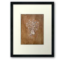 Clover Heart II Framed Print