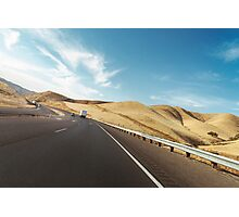 American Highway Driving Photographic Print