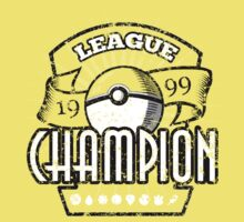 Pokemon League Champion Kids Clothes