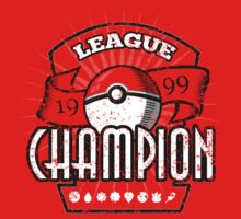 Pokemon League Champion One Piece - Short Sleeve
