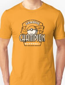 Pokemon League Champion Unisex T-Shirt