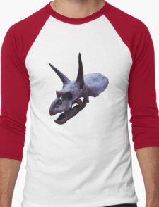 Ceratopsian Men's Baseball ¾ T-Shirt