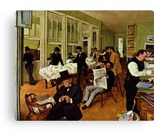 Edgar Degas French Impressionism Oil Painting Men Working Canvas Print