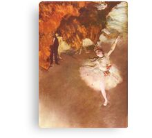 Edgar Degas French Impressionism Oil Painting Ballerinas Dancing Canvas Print