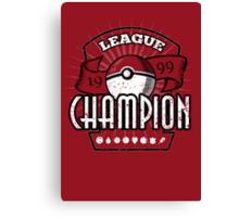Pokemon League Champion Canvas Print