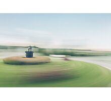 Roundabout Blur Photographic Print